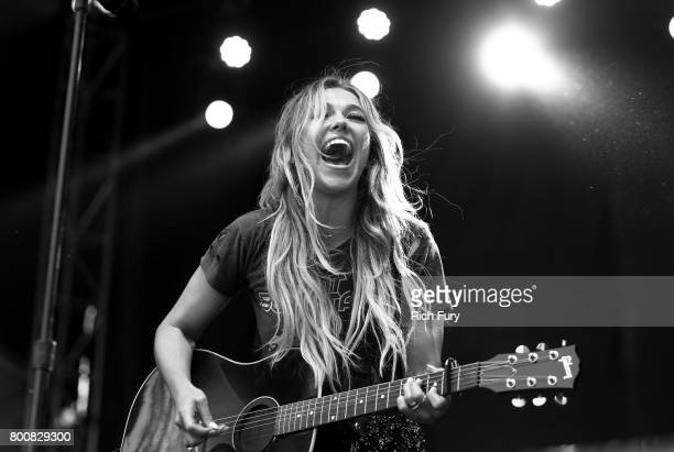 Musician Rachel Platten performs on the Sycamore stage during Arroyo Seco Weekend at the Brookside Golf Course at on June 25 2017 in Pasadena...