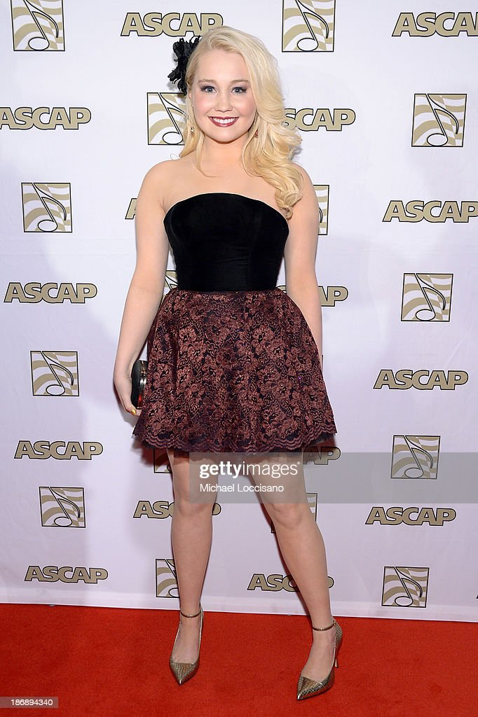 Musician RaeLynn attends the 51st annual ASCAP Country Music Awards at Music City Center on November 4, 2013 in Nashville, Tennessee.