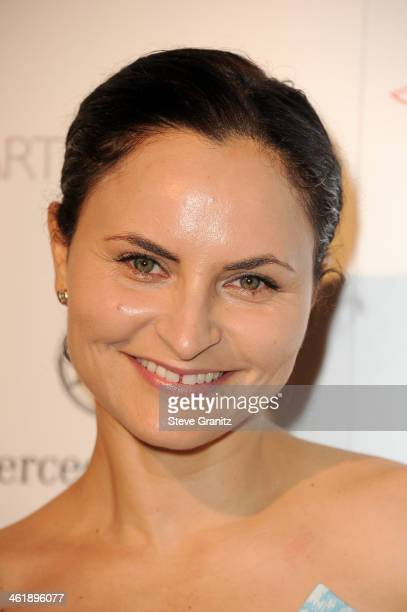 Musician Rain Phoenix arrives at The Art of Elysium's 7th Annual HEAVEN Gala presented by MercedesBenz at Skirball Cultural Center on January 11 2014...