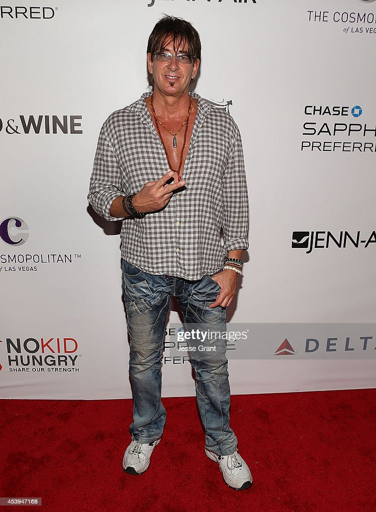 Musician Ralph Rieckermann attends Ultimate Bites of L.A. Presented by Chase Sapphire Preferred, Hosted by Chef Graham Elliot & Fabio Viviani on August 21, 2014 in Los Angeles, California.