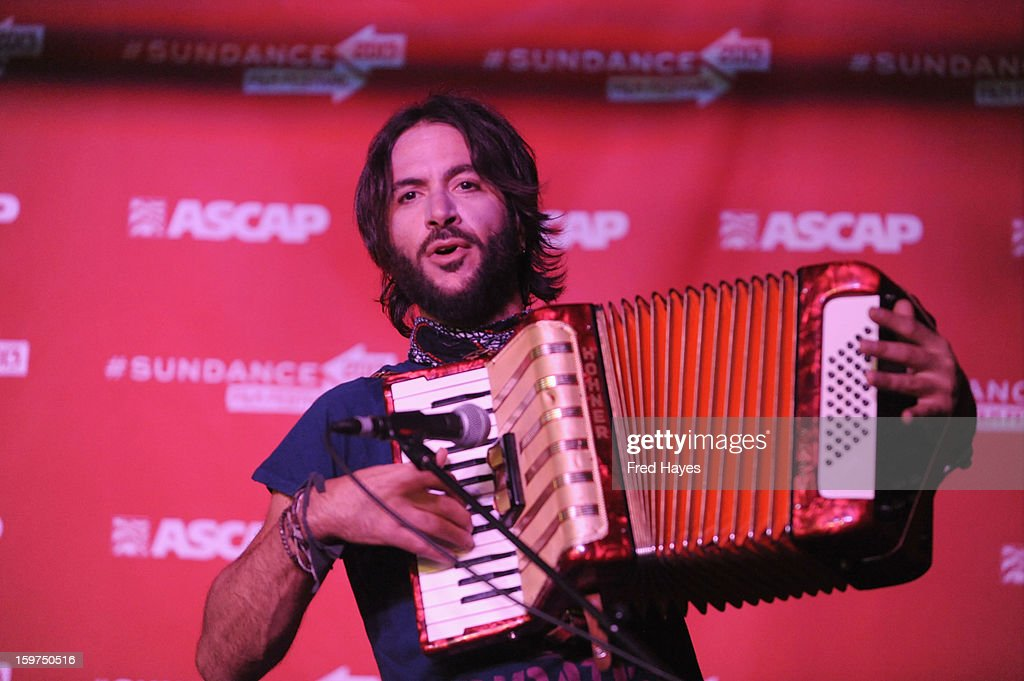 Musician <a gi-track='captionPersonalityLinkClicked' href=/galleries/search?phrase=Rami+Jaffee&family=editorial&specificpeople=234780 ng-click='$event.stopPropagation()'>Rami Jaffee</a> performs onstage during Day 2 of ASCAP Music Cafe at Sundance ASCAP Music Cafe during the 2013 Sundance Film Festival on January 19, 2013 in Park City, Utah.
