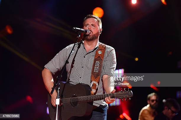 Musician Randy Houser performs onstage during the 2015 CMA Festival on June 12 2015 in Nashville Tennessee