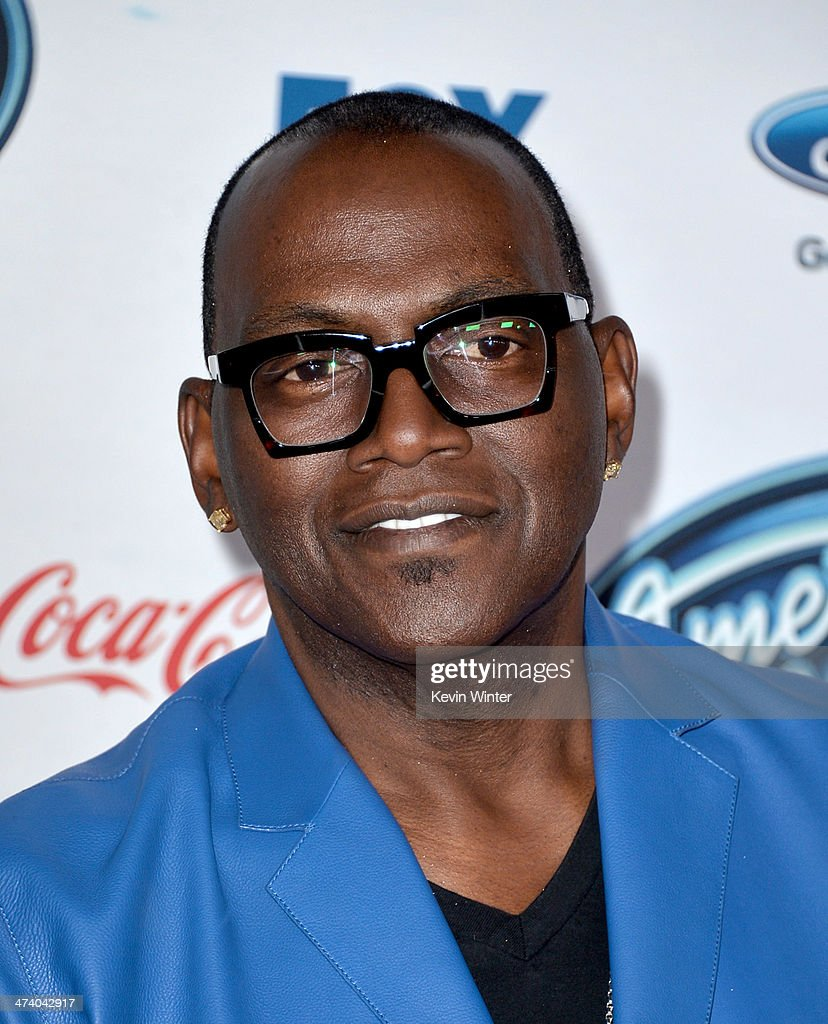 Musician Randy Jackson arrives at Fox's 'American Idol Xlll' Finalists Party at Fig and Olive on February 20, 2014 in West Hollywood, California.