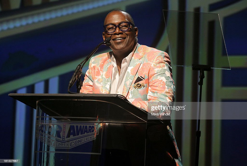 Musician Randy Jackson speaks on stage at the ADCOLOR Awards at The Beverly Hilton Hotel on September 21, 2013 in Beverly Hills, California.