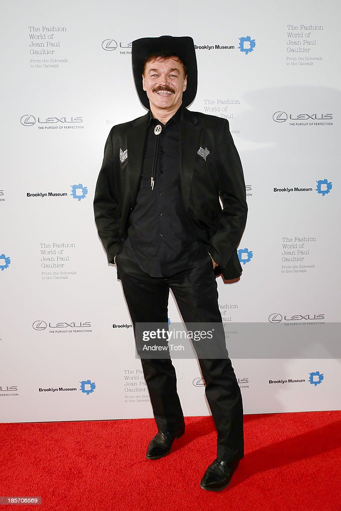 Musician Randy Jones attends the VIP reception and viewing for The Fashion World of Jean Paul Gaultier: From the Sidewalk to the Catwalk at the Brooklyn Museum on October 23, 2013 in the Brooklyn borough of New York City.
