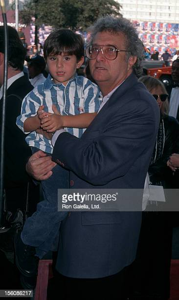 Musician Randy Newman and son Patrick Newman attending the premiere of 'Toy Story' on November 19 1995 at El Capitan Theater in Hollywood California