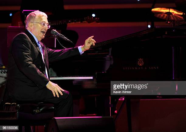 Musician Randy Newman performs onstage 2010 Producers Guild Awards held at Hollywood Palladium on January 24 2010 in Hollywood California