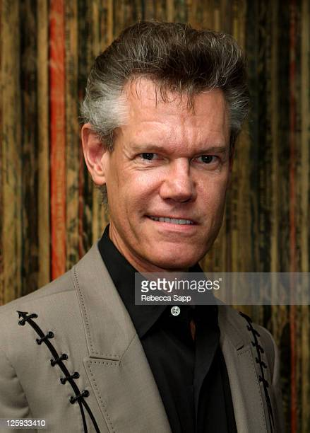 Musician Randy Travis at An Evening With Randy Travis at The GRAMMY Museum on September 21 2011 in Los Angeles California