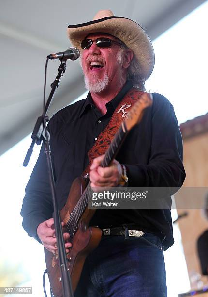 Musician Ray Benson of Asleep at the Wheel performs onstage during day 3 of 2014 Stagecoach California's Country Music Festival at the Empire Polo...