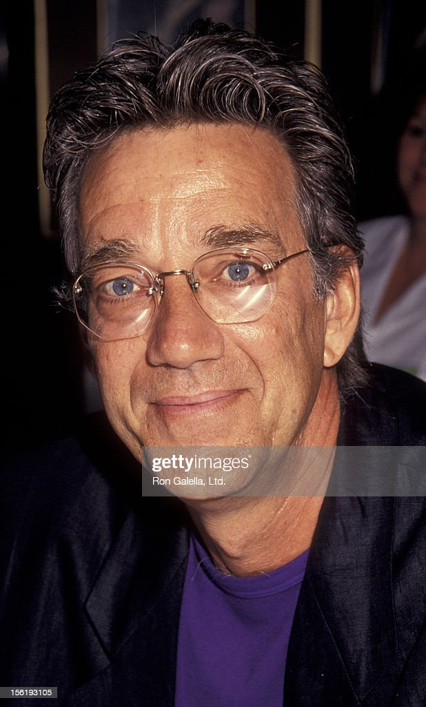 Musician Ray Manzarek of <a gi-track='captionPersonalityLinkClicked' href=/galleries/search?phrase=The+Doors+-+Band&family=editorial&specificpeople=926928 ng-click='$event.stopPropagation()'>The Doors</a> attends 10th Annual Video Dealers Association Convention on July 15, 1991 at the Sands Hotel in Las Vegas, Nevada.