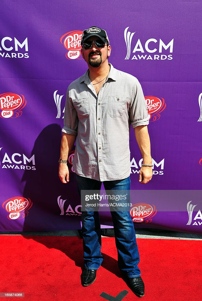Musician <a gi-track='captionPersonalityLinkClicked' href=/galleries/search?phrase=Ray+Scott&family=editorial&specificpeople=619811 ng-click='$event.stopPropagation()'>Ray Scott</a> attends The ACM Experience during the 48th Annual Academy of Country Music Awards at the Orleans Arena on April 6, 2013 in Las Vegas, Nevada.