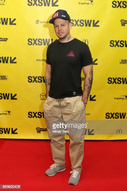 Musician Rene Perez Joglar aka Residente attends 'Conversation With Residente' during 2017 SXSW Conference and Festivals at Austin Convention Center...