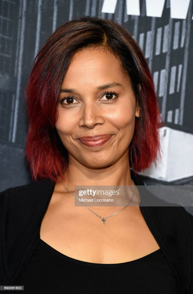 Musician Rhiannon Giddens attends the 2017 CMT Music awards at the Music City Center on June 7, 2017 in Nashville, Tennessee.
