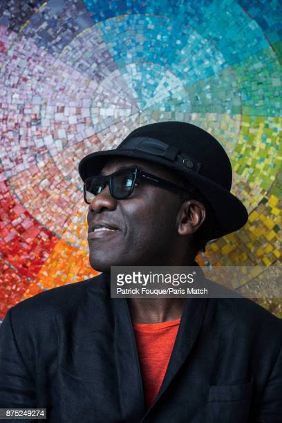 Musician Richard Bona is photographed for Paris Match on May 24 2017 in Paris France