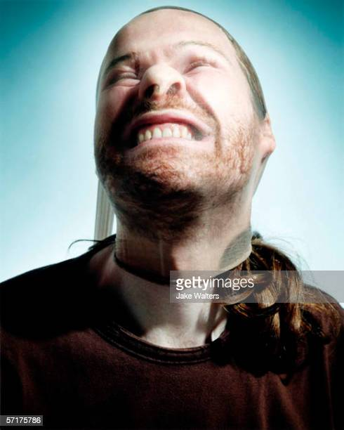 Musician Richard James aka Aphex Twin poses for a portrait shoot in London UK