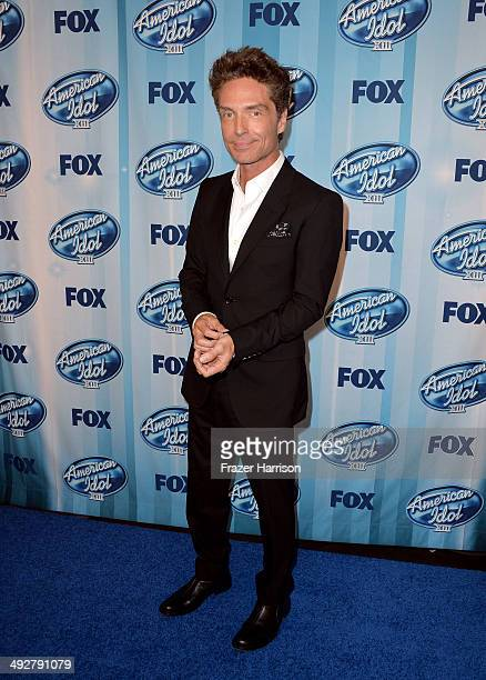 Musician Richard Marx poses in the press room during Fox's 'American Idol' XIII Finale at Nokia Theatre LA Live on May 21 2014 in Los Angeles...
