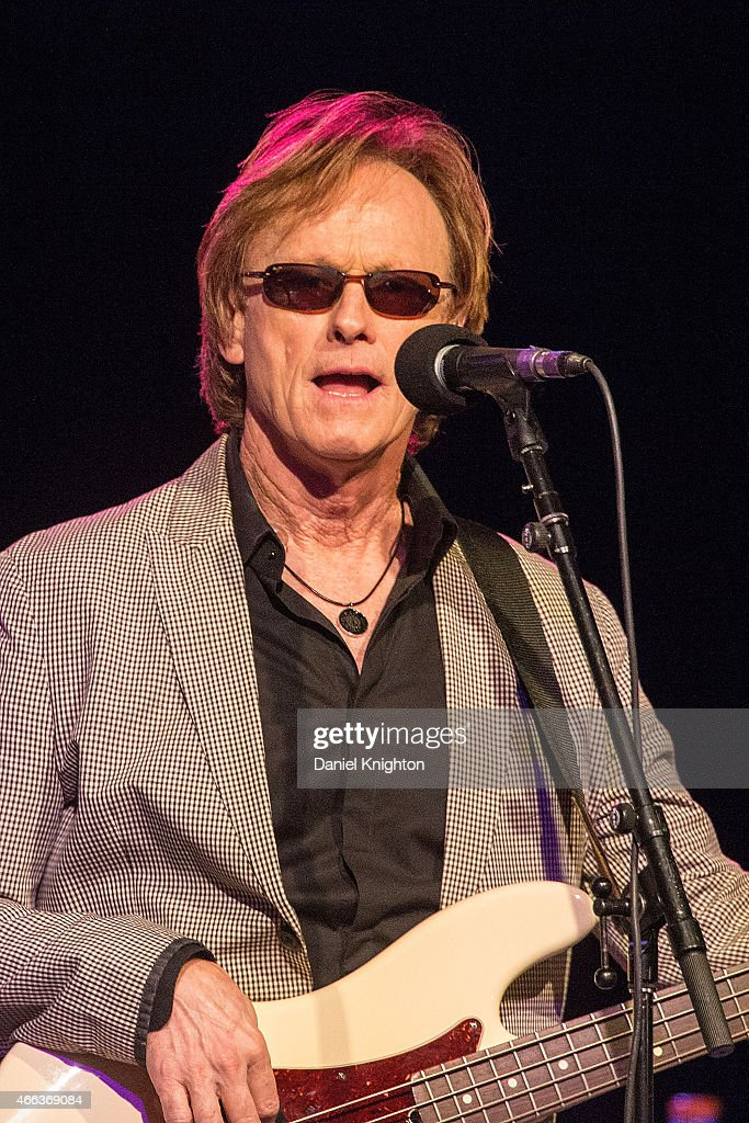 Musician Richard Page performs on stage with Ringo Starr & His All-Starr Band at Pala Casino on March 14, 2015 in Pala, California.