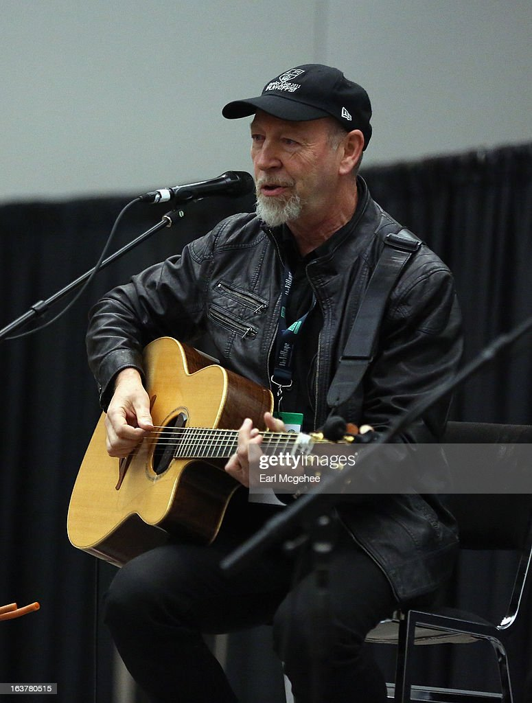 Musician Richard Thompson performs onstage at Songwriter Session: Richard Thompson during the 2013 SXSW Music, Film + Interactive Festival at Austin Convention Center on March 15, 2013 in Austin, Texas.