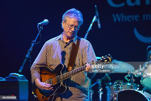Musician Richie Furay of Poco and The Buffalo Springfield performs on stage with his band at The Canyon Club on February 26 2015 in Agoura Hills...