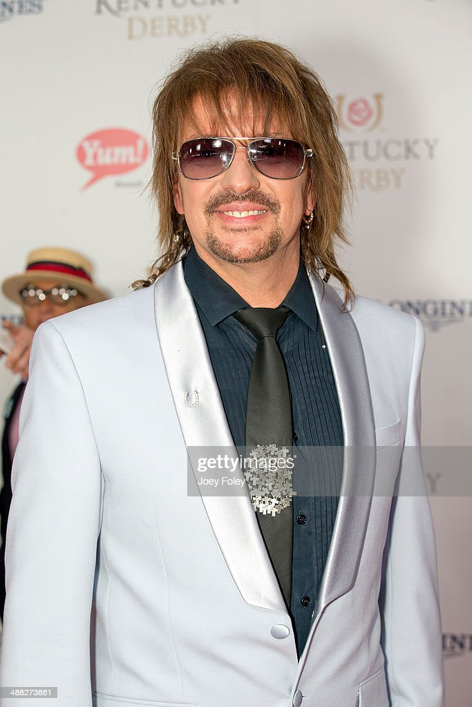 Musician <a gi-track='captionPersonalityLinkClicked' href=/galleries/search?phrase=Richie+Sambora&family=editorial&specificpeople=204195 ng-click='$event.stopPropagation()'>Richie Sambora</a> attends the 140th Kentucky Derby at Churchill Downs on May 3, 2014 in Louisville, Kentucky.