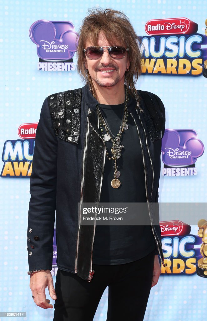 Musician <a gi-track='captionPersonalityLinkClicked' href=/galleries/search?phrase=Richie+Sambora&family=editorial&specificpeople=204195 ng-click='$event.stopPropagation()'>Richie Sambora</a> attends the 2014 Radio Disney Music Awards at the Nokia Theatre L.A. Live on April 26, 2014 in Los Angeles, California.