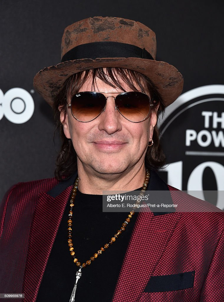 Musician Richie Sambora attends the 2016 Billboard Power 100 Celebration at Bouchon on February 12, 2016 in Beverly Hills, California.