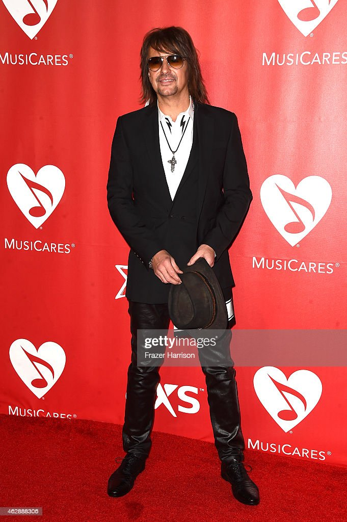 Musician Richie Sambora attends the 25th anniversary MusiCares 2015 Person Of The Year Gala honoring Bob Dylan at the Los Angeles Convention Center on February 6, 2015 in Los Angeles, California. The annual benefit raises critical funds for MusiCares' Emergency Financial Assistance and Addiction Recovery programs.