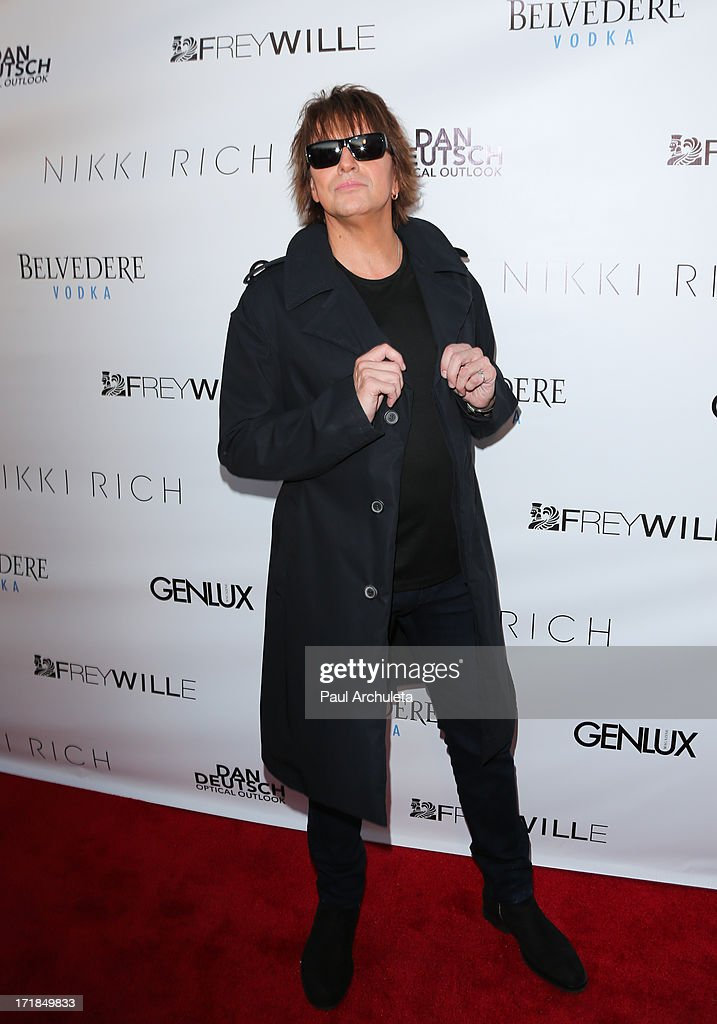 Musician Richie Sambora attends the Genlux Magazine summer issue release party at the Luxe Rodeo Drive Hotel on June 28, 2013 in Beverly Hills, California.