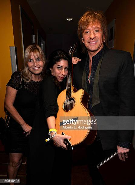 Musician Richie Sambora joined President Bill Clinton and Kobe Bryant at the grand opening of STEP UP ON VINE on January 14 2013 in Los Angeles...