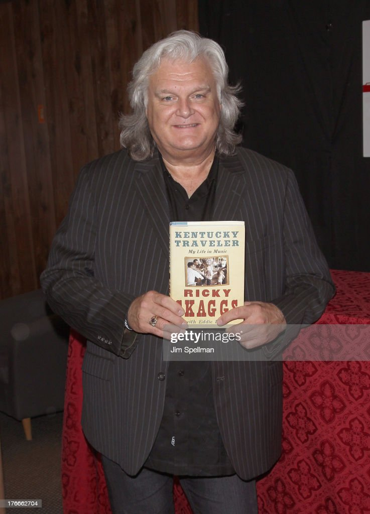 "Ricky Skaggs Signs Copies Of His Book ""Kentucky Traveler"""