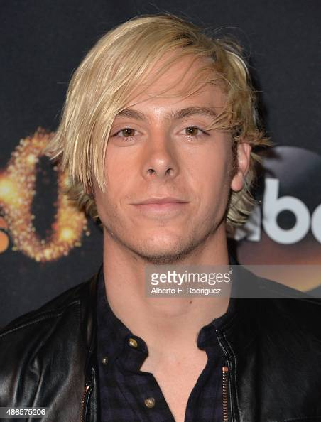 Musician Riker Lynch attends the premiere of ABC's 'Dancing With The Stars' season 20 at HYDE Sunset Kitchen Cocktails on March 16 2015 in West...