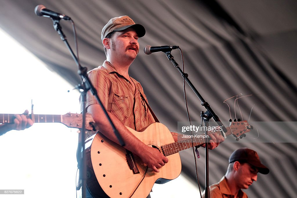 Musician Riley Downing of The Deslondes performs onstage during 2016 Stagecoach California's Country Music Festival at Empire Polo Club on May 01, 2016 in Indio, California.