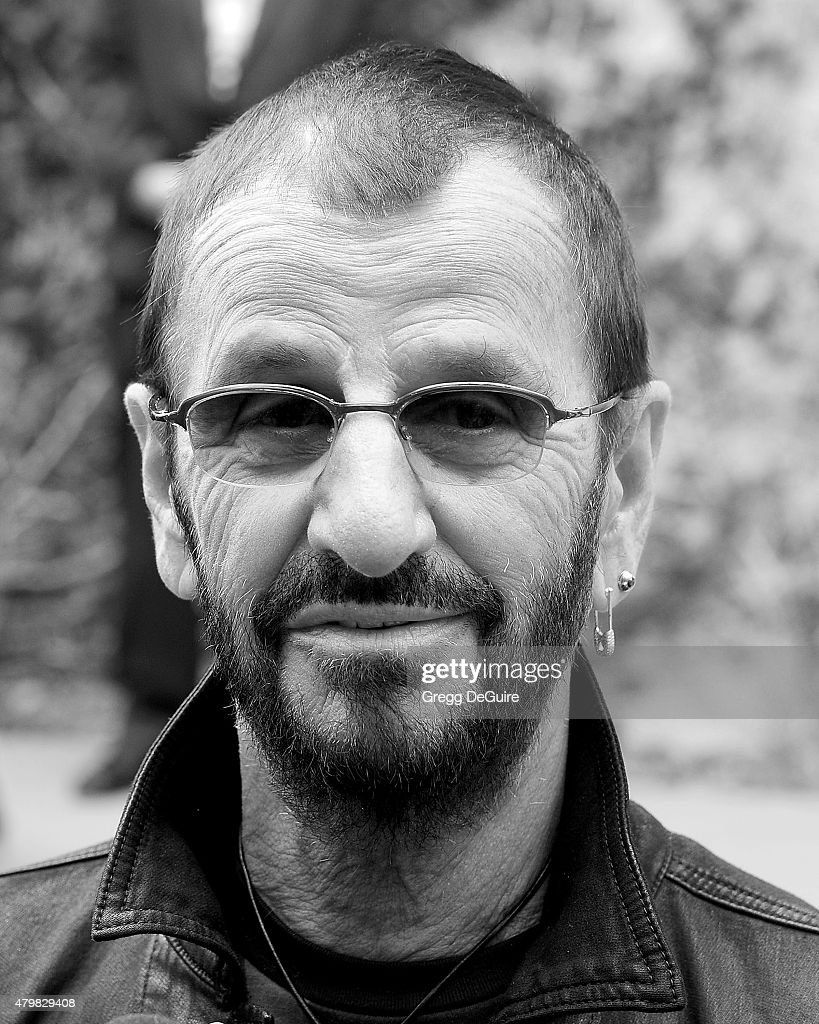 Musician Ringo Starr attends his birthday fan gathering at Capitol Records on July 7, 2015 in Hollywood, California.