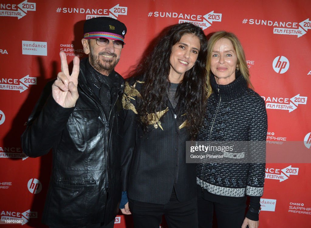 Musician Ringo Starr, director Francesca Gregorini and actress Barbara Bach attend the 'Emanuel and The Truth About Fishes' Premiere during the 2013 Sundance Film Festival at Library Center Theater on January 18, 2013 in Park City, Utah.