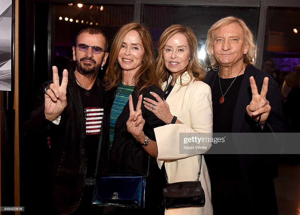 Joe Walsh and Marjorie Bach Photos Photos - Arrivals at the Grammy ...