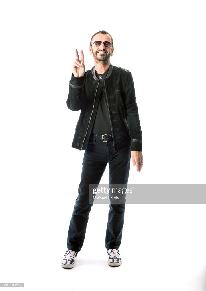 Musician Ringo Starr photographed for AARP The Magazine on April 1, 2015, in Los Angeles, California.