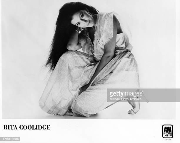 Musician Rita Coolidge poses for a portrait in circa 1977