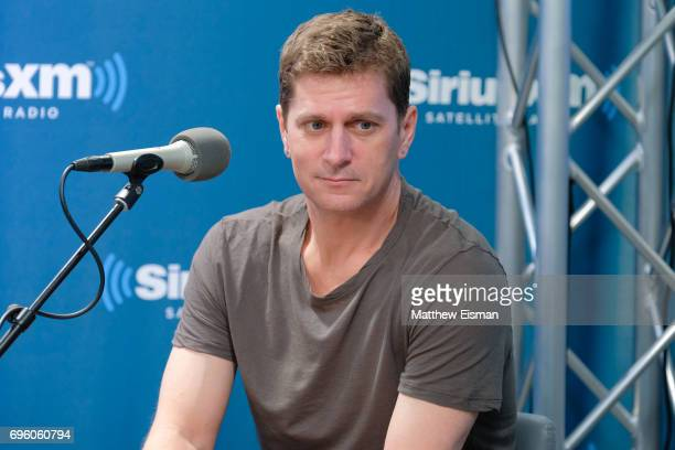 Musician Rob Thomas hosts a SiriusXM 'Town Hall' event with the band Chicago at SiriusXM Studios on June 14 2017 in New York City