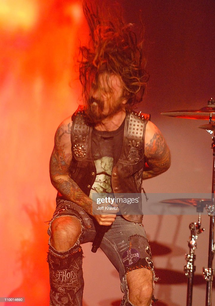 Musician Rob Zombie performs during the 2007 Spike TV Scream Awards at The Greek Theater on October 19 2007 in Los Angeles California