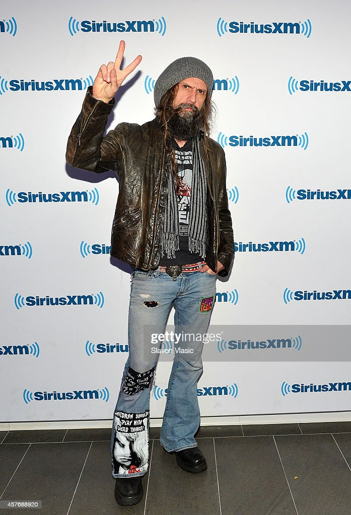 Musician Rob Zombie visits SiriusXM Studios on October 22 2014 in New York City