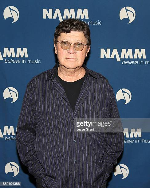 Musician Robbie Robertson attends the 2017 NAMM Show Opening Day at Anaheim Convention Center on January 19 2017 in Anaheim California