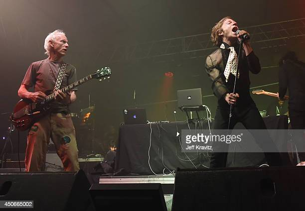 Musician Robby Krieger and guests perform during the Superjam onstage at This Tent during day 3 of the 2014 Bonnaroo Arts And Music Festival on June...