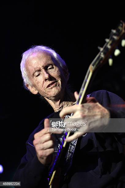 Musician Robby Krieger performs at the 7th annual Scott MedlockRobby Krieger Invitational AllStar Concert benefiting St Jude held at Moorpark Country...