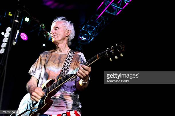 Musician Robby Krieger performs on stage during the 9th Annual Medlock Krieger Celebrity Invitational And All Star Concert Benefiting St Jude...