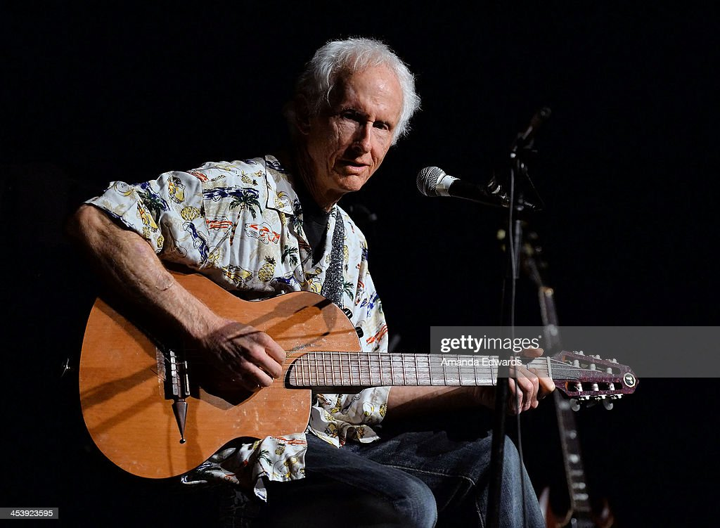 Musician Robby Krieger performs onstage at the Film Independent at LACMA Presents An Evening With The Doors event at Bing Theatre At LACMA on December 5, 2013 in Los Angeles, California.