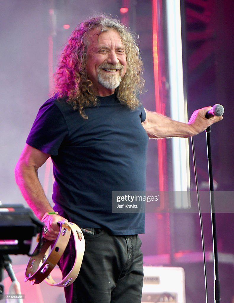 Musician <a gi-track='captionPersonalityLinkClicked' href=/galleries/search?phrase=Robert+Plant&family=editorial&specificpeople=211368 ng-click='$event.stopPropagation()'>Robert Plant</a> & The Sensational Space Shifters perform onstage at Which Stage during Day 4 of the 2015 Bonnaroo Music And Arts Festival on June 14, 2015 in Manchester, Tennessee.