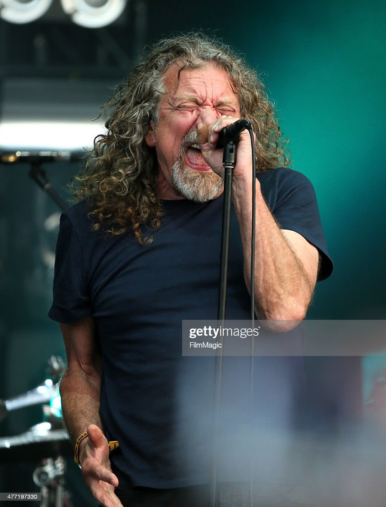 Musician Robert Plant & The Sensational Space Shifters perform onstage at Which Stage Day 4 of the 2015 Bonnaroo Music And Arts Festival on June 14, 2015 in Manchester, Tennessee.