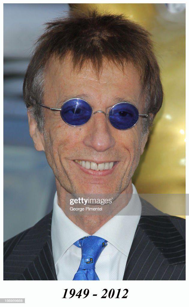 Musician Robin Gibb attends the World Music Awards 2010 at the Sporting Club on May 18, 2010 in Monte Carlo, Monaco. Robin Gibb died in 2012.