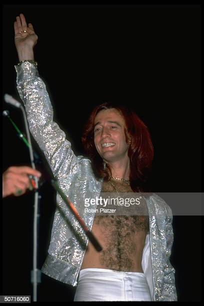 Musician Robin Gibb of the Bee Gees