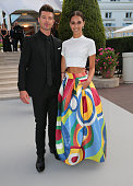 Musician Robin Thicke and April Love Geary attend amfAR's 22nd Cinema Against AIDS Gala Presented By Bold Films And Harry Winston at Hotel du...